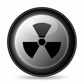 picture of nuke  - Radiation icon - JPG