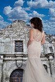 pic of texas  - Texas girl at the Alamo in Texas - JPG