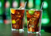 foto of oz  - Cuba libre is a famouse cuban cocktail. It is made of: