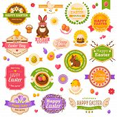pic of easter eggs bunny  - Easter scrapbook set - JPG