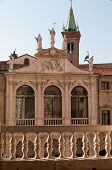 picture of vicenza  - The facade of St - JPG