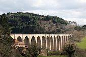 picture of souse  - The viaduct of Mussy - JPG