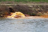 foto of water pollution  - Pollution of Water - JPG