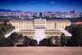 image of schoenbrunn  - Schoenbrunn Palace in Vienna Austria - JPG