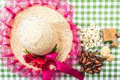 picture of brazilian food  - Table with typical Brazilian Sweets for the famous Junina Party - JPG