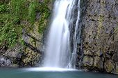 picture of sochi  - Waterfall on the Zmeika river - JPG