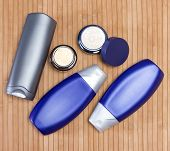 stock photo of cosmetic products  - Mens cosmetics - JPG