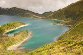 foto of lagos  - Caldera Lago di Fogo  - JPG