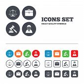 picture of justice law  - Scales of Justice icon - JPG