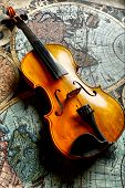 stock photo of musical instruments  - Musical background  - JPG