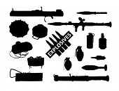 stock photo of landmines  - weapon collection - JPG