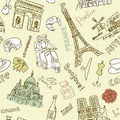 foto of moulin rouge  - Sightseeing in Paris doodles - JPG