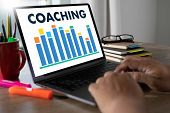 Coaching Training Planning Learning Education Coaching Business  Communication  Man Of Business Know poster