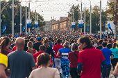 September 15, 2018 Minsk Belarus Half Marathon Minsk 2019 Running In The City poster