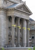 stock photo of boise  - Boise capital front shot with it - JPG