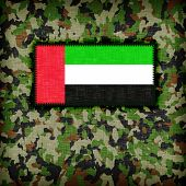 picture of ami  - Amy camouflage uniform with flag on it UAE - JPG