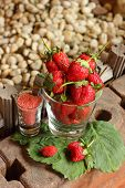 Strawberry fruit berries