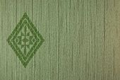 green color tone wall cover pattern