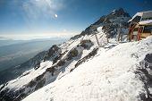 pic of jade blue  - Viewpoint Of Jade Dragon Snow Mountain - JPG
