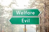 Welfare or Evil