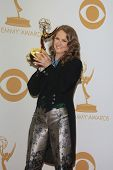 LOS ANGELES - SEP 22: Melissa Leo in the press room during the 65th Annual Primetime Emmy Awards hel