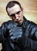 pic of bandit  - Very aggressive chief mafia gangster thug bandit - JPG