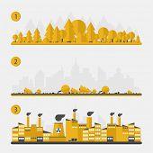 pic of deforestation  - Ecology concept  - JPG
