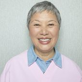 foto of 50s 60s  - Close up of senior Asian woman smiling - JPG