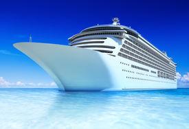 picture of passenger ship  - 3D Cruise Ship - JPG
