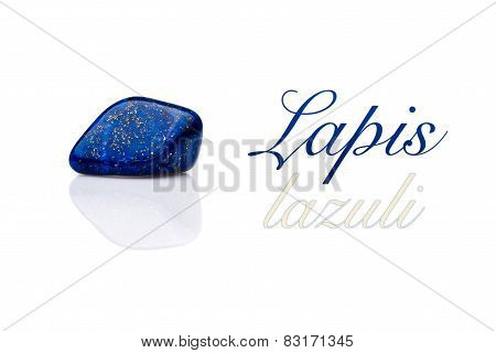 Beautiful Blue Lapis Lazuli Gem
