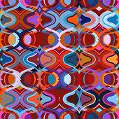 stock photo of motif  - Vector seamless ethnic pattern with Uzbek - JPG