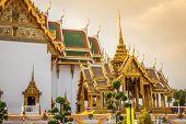 picture of royal palace  - Royal grand palace in Bangkok Asia Thailand - JPG
