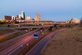 image of kansas  - Kansas City at twilight with no copyright or trademark symbols - JPG