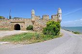 foto of crimea  - Old Turkish fortress Yeni - JPG
