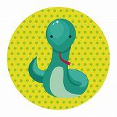 pic of chinese zodiac animals  - Chinese Zodiac Snake Theme Elements - JPG