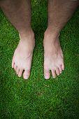 foto of barefoot  - Human - JPG