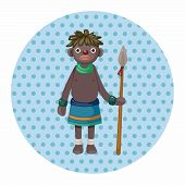 pic of aborigines  - Aborigines Theme Elements - JPG