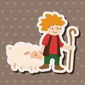 pic of shepherds  - Shepherd Theme Elements - JPG