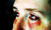 pic of domestic violence  - cross - JPG