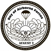 stock photo of military personnel  - Day of Airborne Forces  - JPG