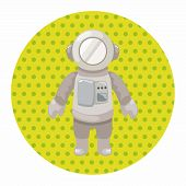 image of spaceman  - Spaceman Theme Elements Vector - JPG
