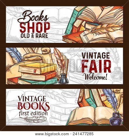 Bookshop Or Vintage Rare Books