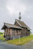 Historical Site Dating From The 17th Century On Kizhi Island, Russia. Church Of The Resurrection Of  poster