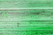 Texture Background Of Wooden Planks Covered With Old Peeling Paint Of Green Color. Wooden Texture Su poster