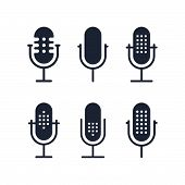 Microphone-icons Copy poster