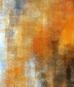 Abstract Brush Painting. Brushstrokes , Spots Of Paint. Multicolored Background. Painted Rouge Textu poster
