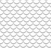 picture of dragon-fish  - Vector fish scale pattern - JPG