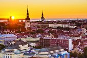 picture of olaf  - Dawn in Tallinn - JPG