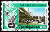 Postage Stamp Venezuela 1974 Highway And Overpass