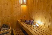 picture of sauna  - Sauna  - JPG